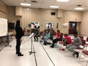 a cup of kindness rehearsal